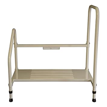 Groovy Amazon Com Step2Bed Bed Hand Rail Adjustable Height Bed Cjindustries Chair Design For Home Cjindustriesco