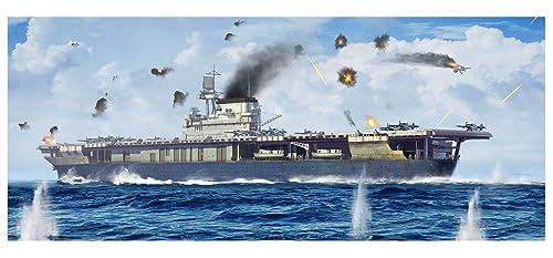 トランペッター 1/700 アメリカ海軍 航空母艦 CV-5 ヨークタウン プラモデル 06707