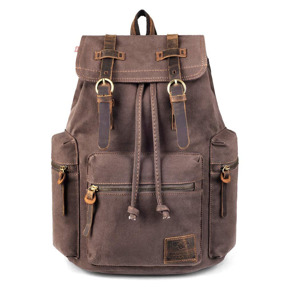 VDSL-AUGUR SERIES Vintage Backpack Hiking Daypacks Computers Laptop  Backpacks Unisex Casual Rucksack Satchel Bookbag Mountaineering Bag for Men  Women 1dbec3c9f5