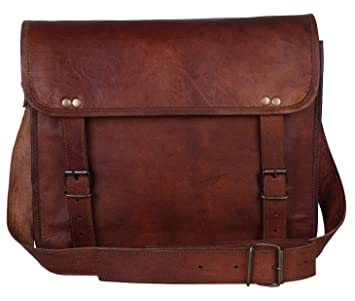 39fa7038f85c Image Unavailable. Image not available for. Color  13 quot  Handmade  Leather Messenger Bag Satchel Leather Laptop Bag By Rustic Town