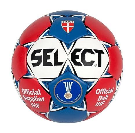 Select Scorpio SE3803 - Balón de balonmano, color rojo/azul/blanco ...