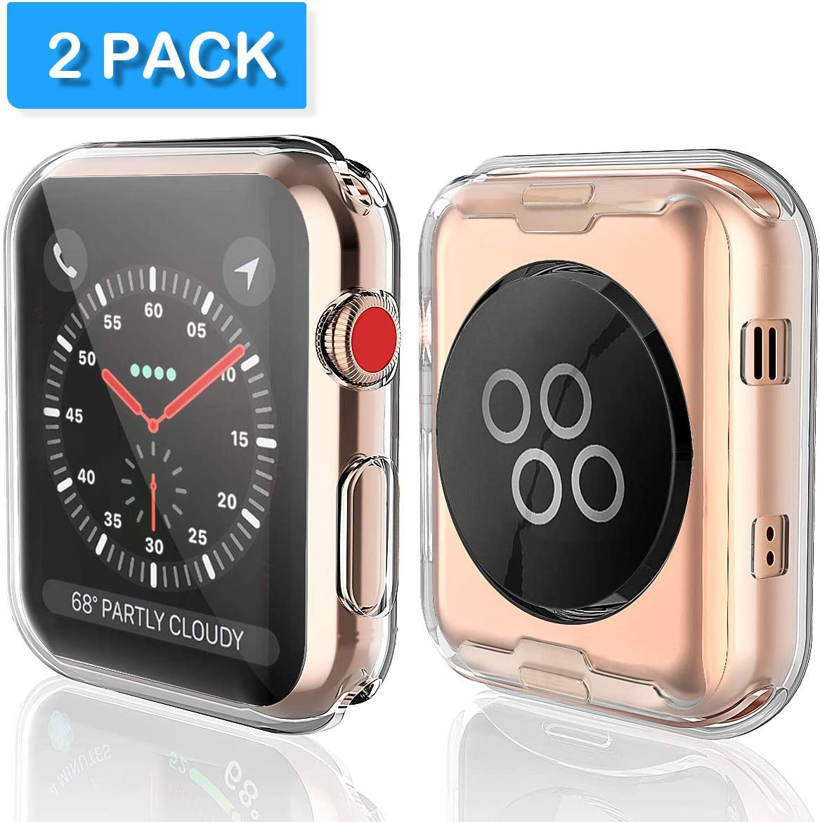 Protector Para Series 3 38mm Para Apple Watch (2017) [2un]
