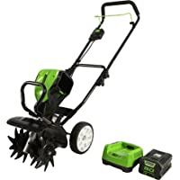Greenworks Pro 80V 10 inch Cultivator with 2Ah Battery and Charger, TL80L210