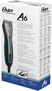 Oster Golden A6 Heavy Duty Comfort 3 Speed Professional Clipper 078006-000