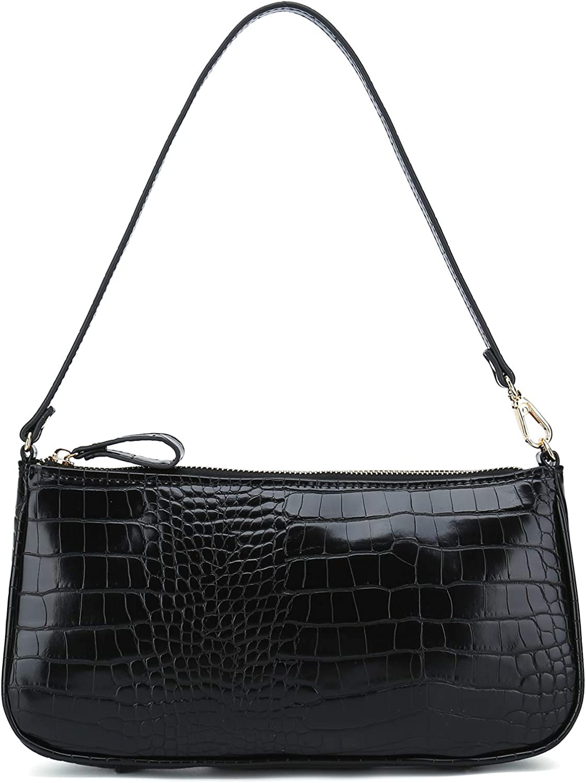 Retro Crocodile Pattern Bucket Bags Women Chain Hand Bags