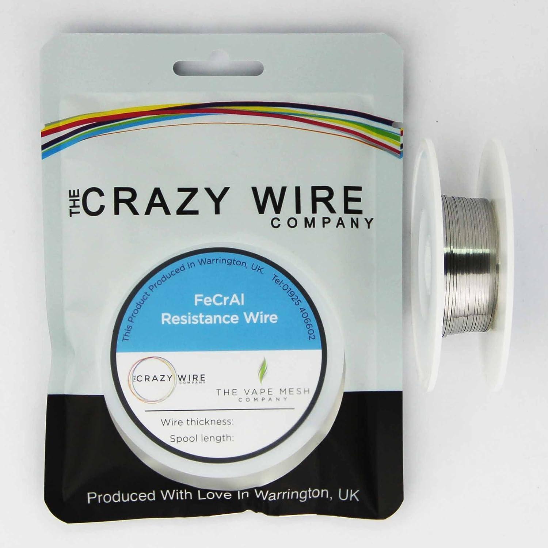 0.8mm x 0.1mm - Ribbon Wire - KA1 (FeCrAl A1) (Kanthal A1) - 25 ...