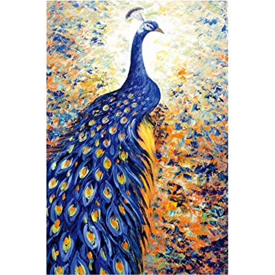 Danmeifu Jigsaw Puzzles 1000 Pieces Adults Children Toys Game Animal Peacock Puzzles 75 X 50 cm: Toys & Games