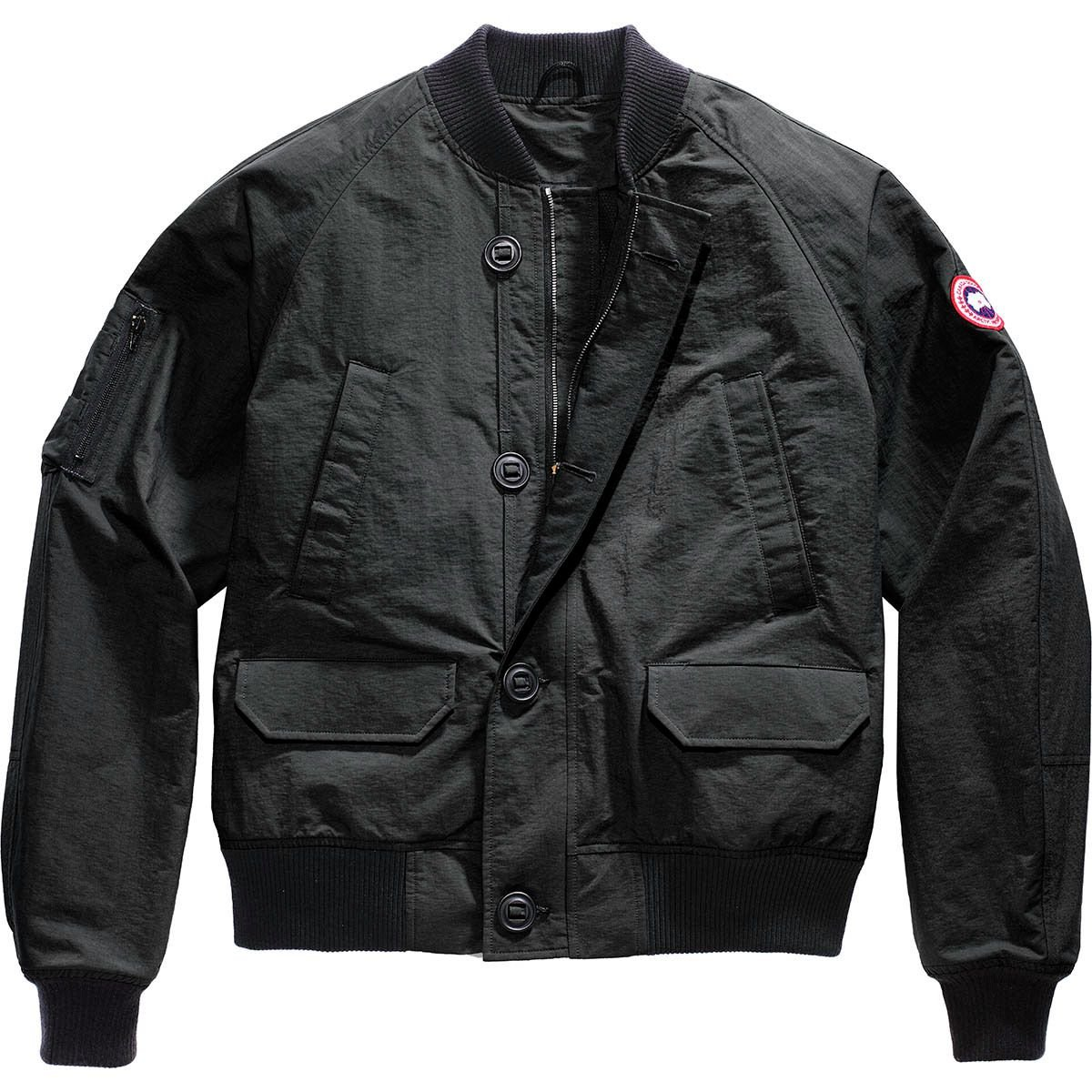 (カナダグース)Canada Goose Faber Bomber メンズ ジャケットBlack [並行輸入品] B0797N68KB  Black 日本サイズ L (US M)
