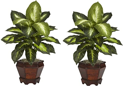 Nearly Natural 6712-GD-S2 Dieffenbachia