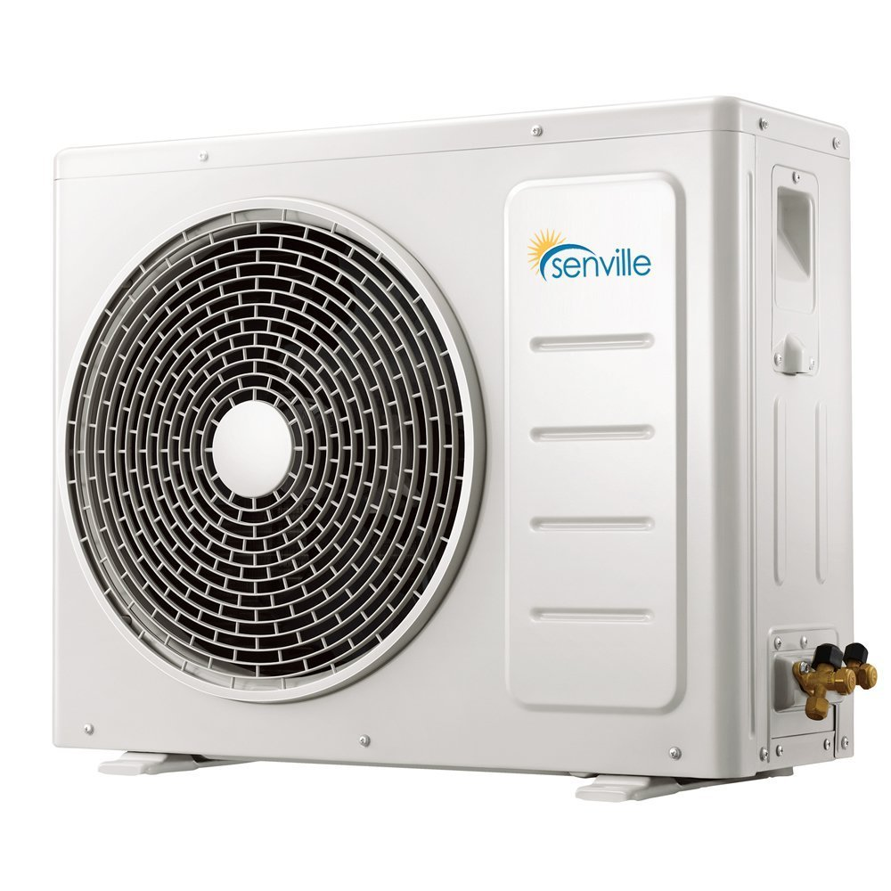Amazon.com: Senville SENL-12CD 12000 BTU 15 SEER Split Air Conditioner and  Heat Pump, Mini: Home & Kitchen