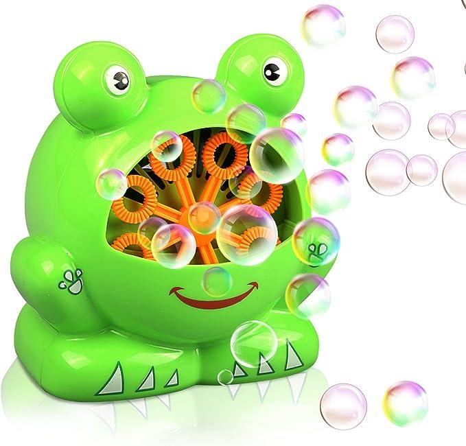 Máquina de burbujas rana automática Gifort, máquina sopladora de ...