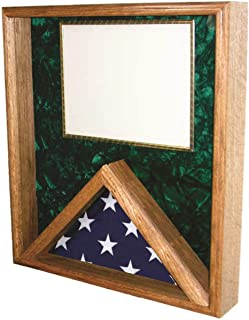 product image for All American Gifts Flag/Certificate Case - for 3x5 Flag (Green Velvet)
