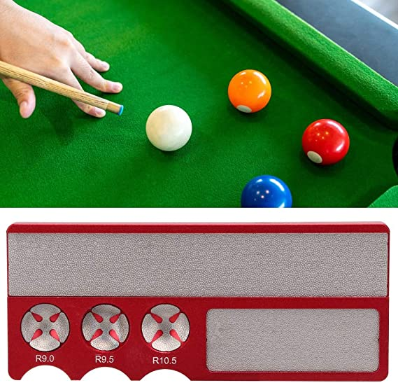 1pc pool table billiard snooker cue tip shaper shapping corrector repair tooRSZ8