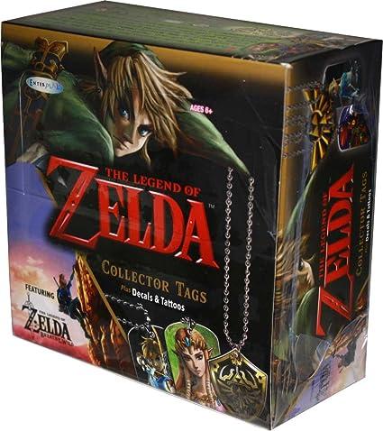 Breath of the Wild 2017 Enterplay Legend of Zelda Collector Tag #23 Sword Logo