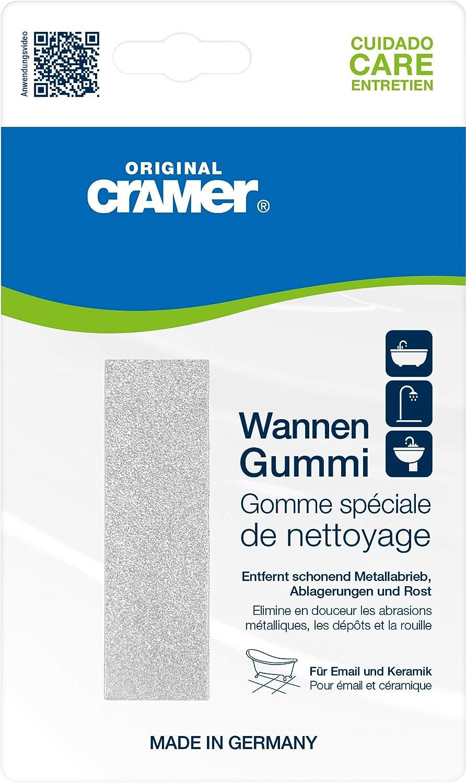 CRAMER Wannen Gummi Schmutzradierer Keramik Email Porzellan Fliesen Radierer