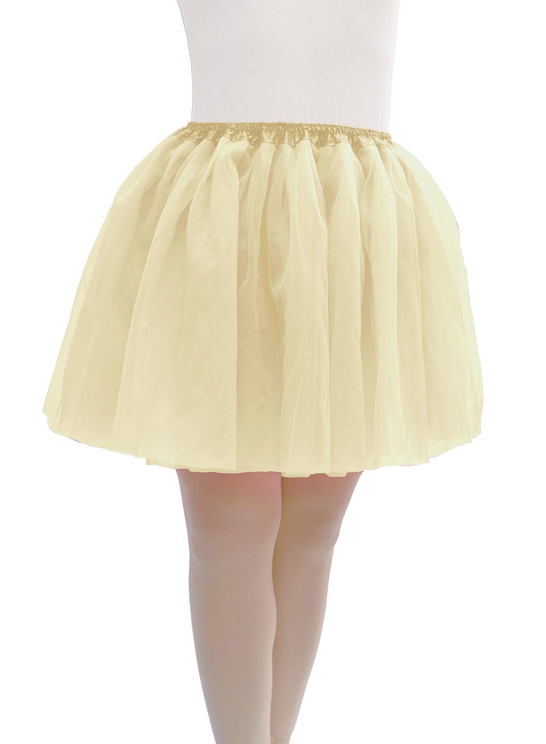 Dancina Off White Women Tutu Plus Size 12-24 Ivory