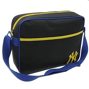 630a200e6d New York Yankees MLB Flight Bag Navy Yellow Baseball Messenger Shoulder Bag  H  27cm