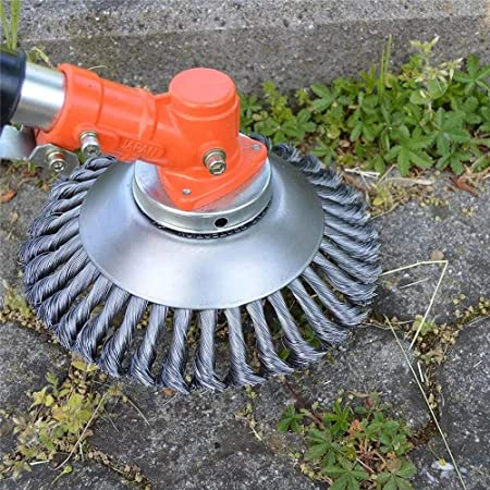 8/'/' Grass Trimmer Head Knot Wire Weed Brush Cutter for Garden Lawn Mower Weeding