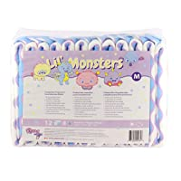 Rearz - Lil' Monsters - V3.0 - Adult Diapers (12 Pack) (Medium)