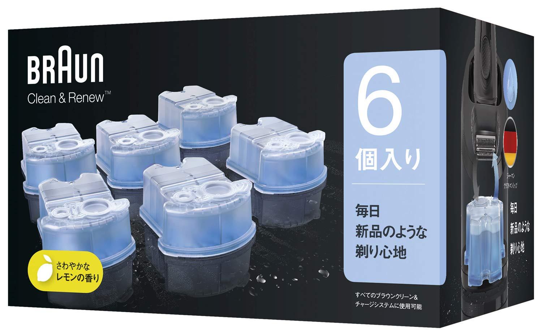 ブラウン アルコール洗浄液 (6個入) メンズシェーバー用 CCR6 CR【正規品】 product image