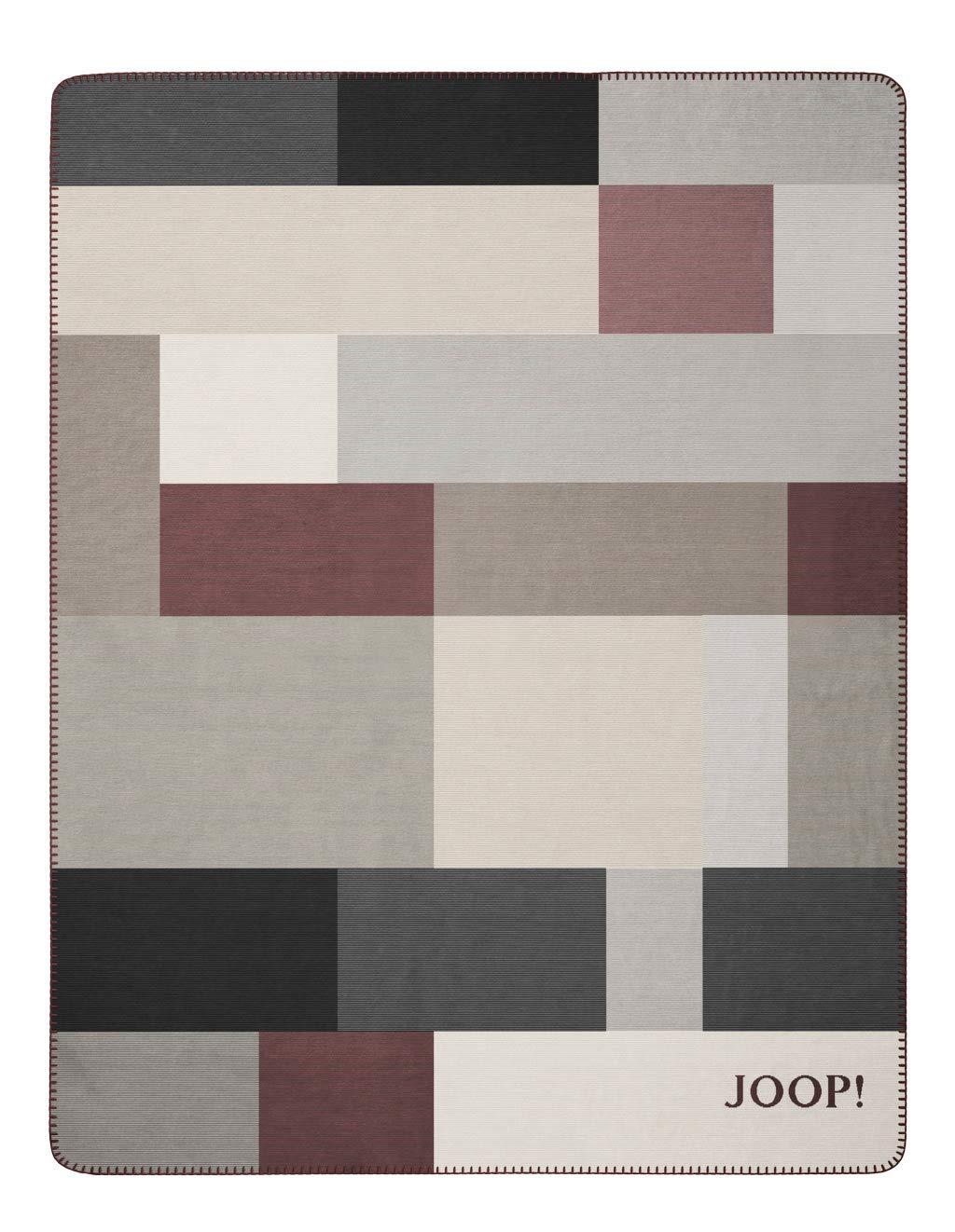 Joop  Wohdecke Bold 150x200 cm Farbe  Rouge-Sand