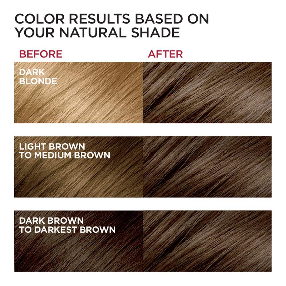 Amazon com loreal paris excellence creme permanent hair color 5 medium brown pack of 3 beauty
