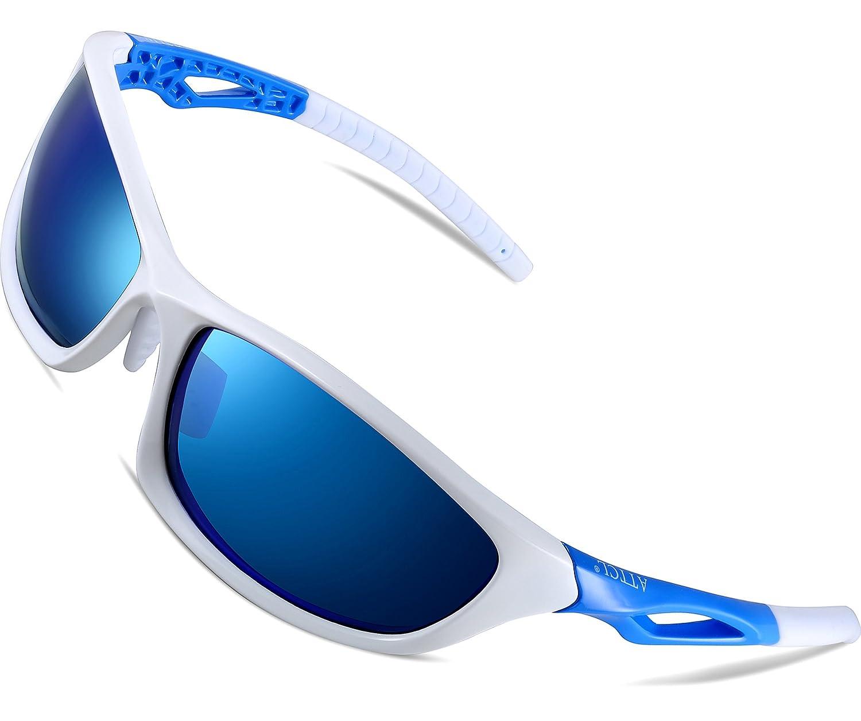 ATTCL - Gafas de sol de deporte para hombre, polarizadas ...