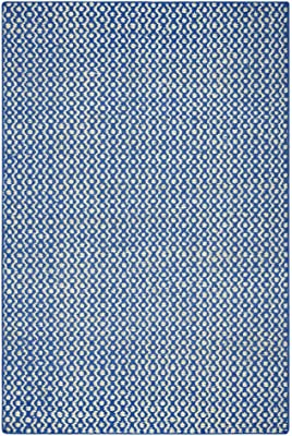 """Gatney Rugs Meridian Area Rug EG9644 Royal Blue Solid Hand-Loomed 2' 6"""" x 8' Rectangle"""