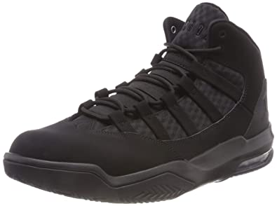online store 418ef 03610 Nike Jordan Max Aura, Men s Basketball Shoes, Black (Black Black 001)