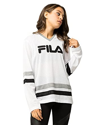 Fila Women s Tanya Hockey Jersey Shirt at Amazon Women s Clothing store  c9e34e84452