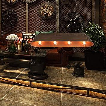 Lámparas de araña Lámpara colgante de la vendimia Industrial Hierro retro Lámpara colgante ajustable Altura E27 / 4 ...
