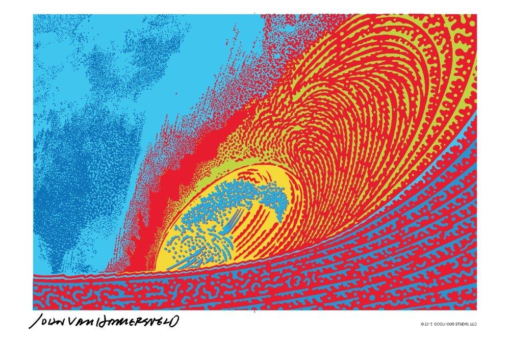 【まとめ買い】 Pipline Wave – John Van 24 Mug Hamersveldポスターアートワーク 15oz Print Mug LANT-3P-15OZ-WHT-72533 B01CXUKIQK 24 x 36 Giclee Print 24 x 36 Giclee Print, 西礪波郡:4443a4f0 --- podolsk.rev-pro.ru