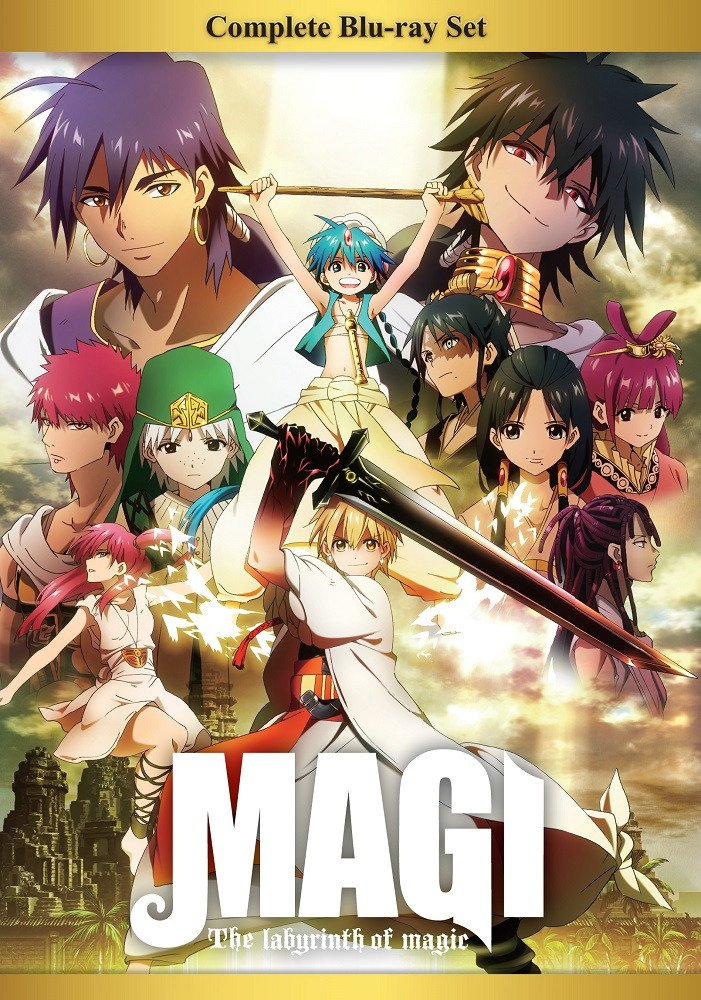 Amazon Com Magi The Labyrinth Of Magic Complete Box Set Blu Ray Movies Tv