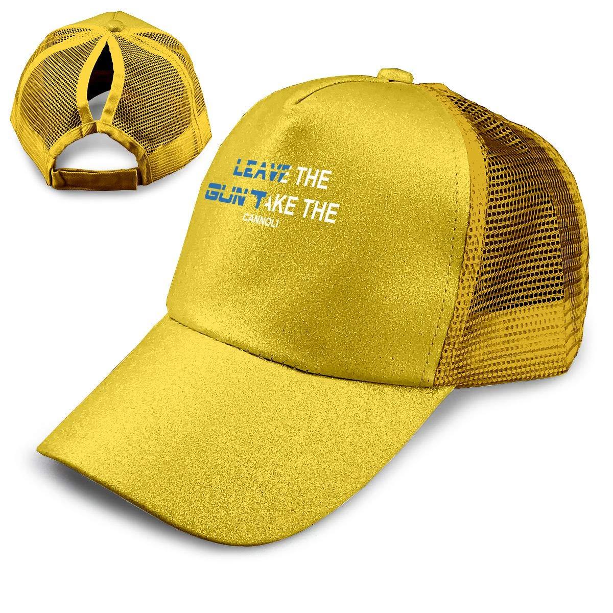 Jamaica Ponytail Messy High Bun Hat Ponycaps Baseball Cap Adjustable Trucker Cap Mesh Cap