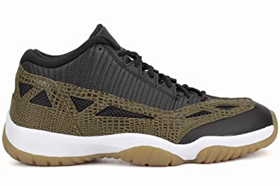 the best attitude 6ab87 6141c Jordan Mens 11 RETRO LOW BLACK GUM YELLOW INFRARED 23 MILITIA GRE 306008