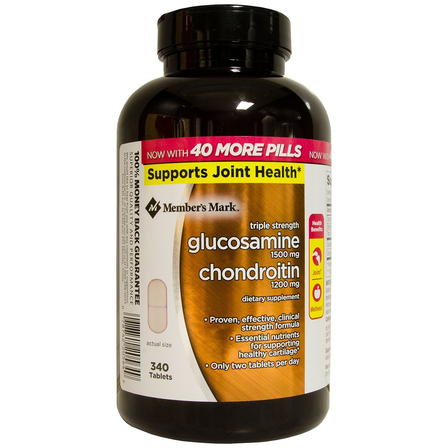 Members Mark - Glucosamine Chondroitin, Triple Strength, 300 Tablets