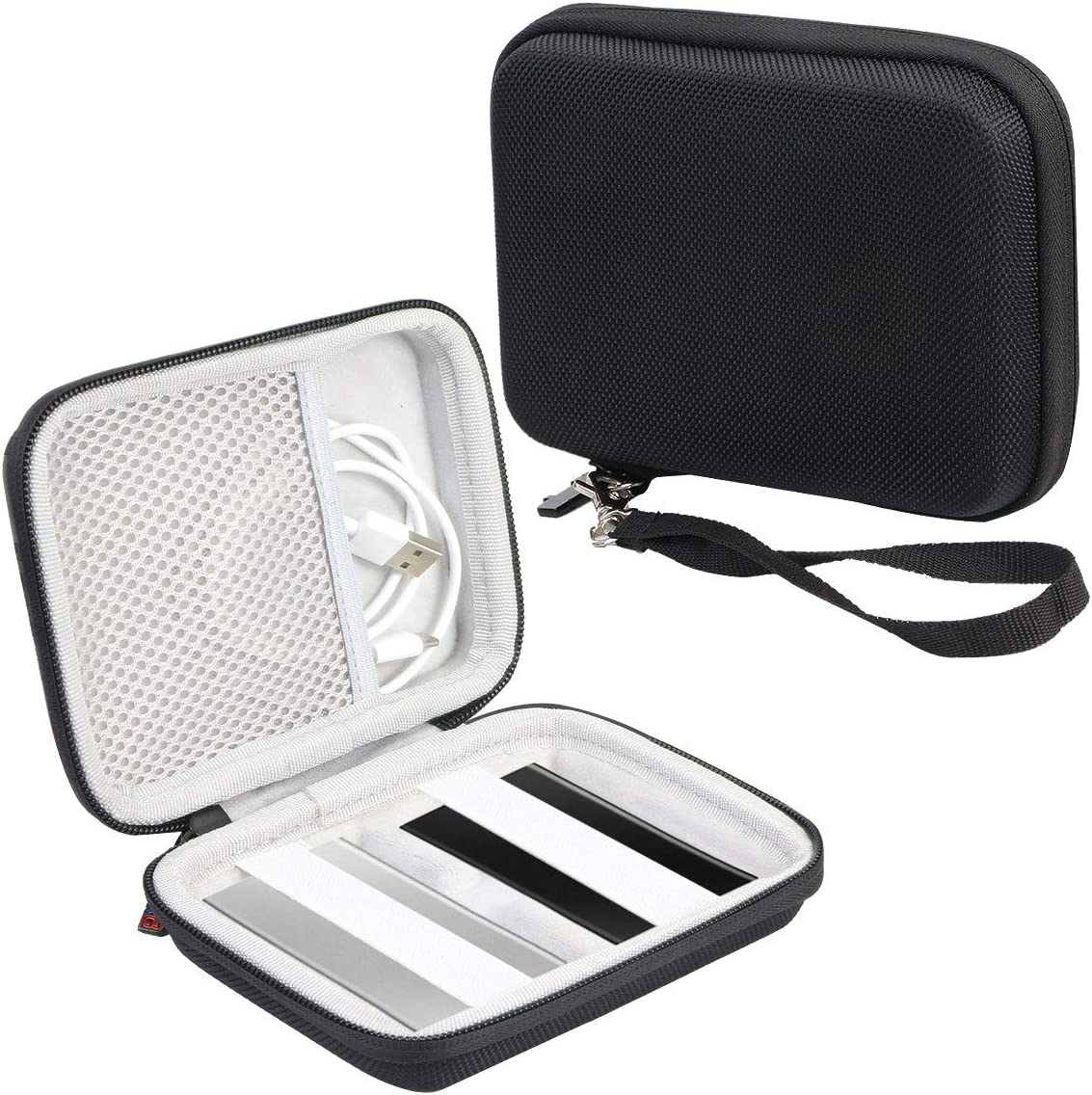 Khanka Hartschalen Schutzhülle Für Samsung T7 Touch Portable Ssd 500 Gb 1 Tb Usb 3 2 Farbe 2 Elektronik
