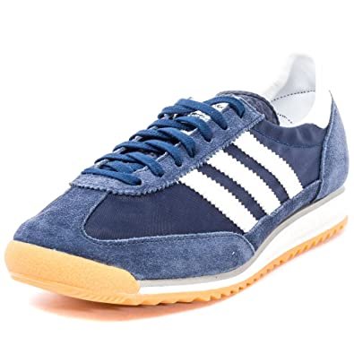 huge discount ffb2d 50231 adidas Herren SL 72 Turnschuhe, BlauWeiß (MaosnoFtwbla  Grpumg)