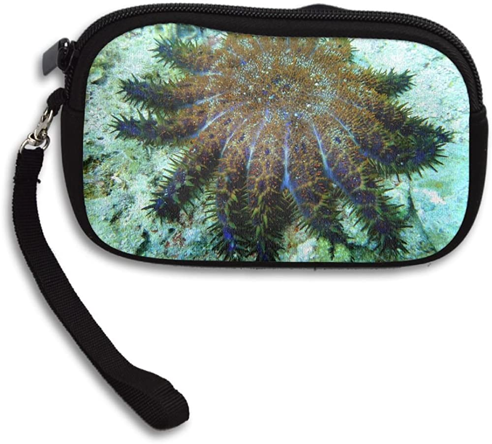 Crown Of Thorns Starfish At Malapascuas Island Deluxe Printing Small Purse Portable Receiving Bag