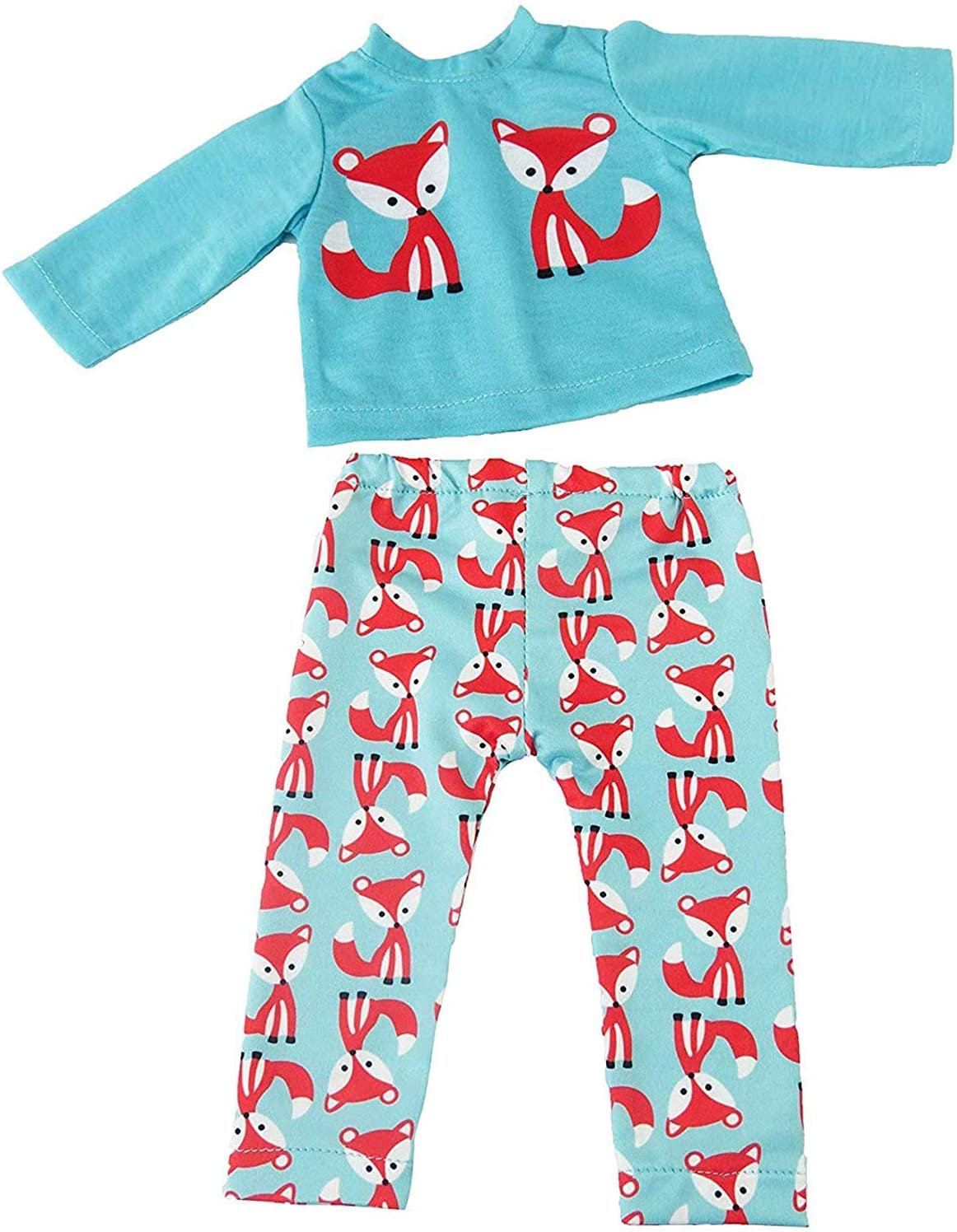 """Teepee Pajama Pant Set Fits 18/"""" American Girl Doll Clothes"""