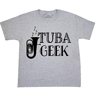 5599a67e Amazon.com: inktastic - Tuba Player Music Gift Youth T-Shirt: Clothing