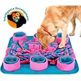 Snuffle Mat for Dogs, Dogs Slow Feeding Training, Encourages Natural Foraging Skills, Pet Play Puppy Interactive Puzzle Toys, Durable and Machine Washable, Perfect for Any Breed