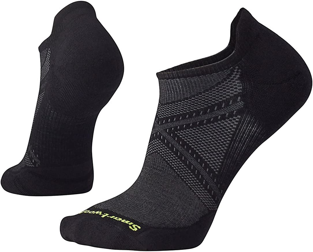 Smartwool PhD Outdoor Light Micro Socks - Men's Run Elite Wool Performance Sock : Clothing