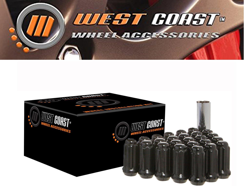 WestCoast Wheel Accessories W55014SEB Wheel Lug Nut