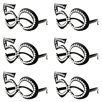 Amazon 50th Birthday Glasses