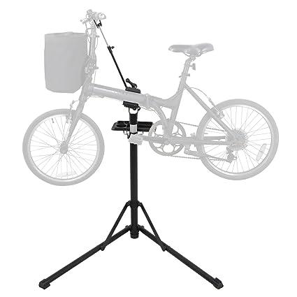 Amazon.com : BBBuy Collapsible Aluminum Bike Repair Stand w ...