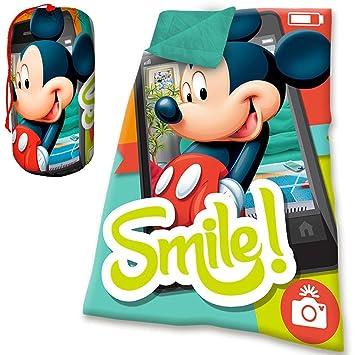 Kids Euroswan Mickey Mouse - Saco de Dormir: Amazon.es: Juguetes y juegos