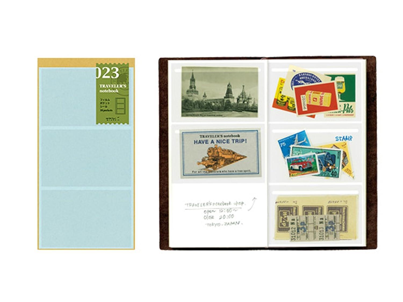 Midori Film Pocket Sticker - Refill 023 per Traveler's Notebook Regular Size 14348006