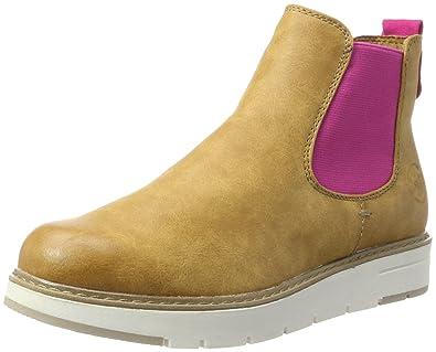 c9009b29d610 MARCO TOZZI Damen 25494 Chelsea Boots, Gelb (Corn Pink), 38 EU ...