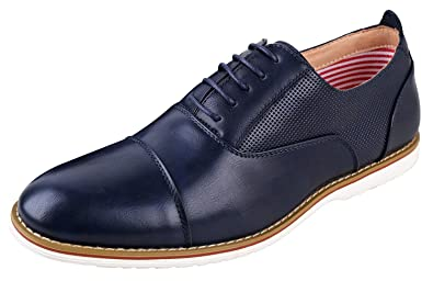 a416d1ccb5f46 Ferro aldos mens marshall oxford dress shoes cap toe shoes modern oxford  shoes men lace up